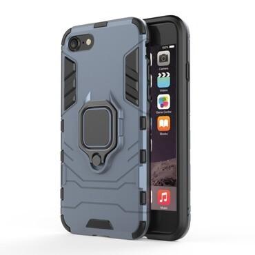 "Robustní kryt ""Impact X Ring"" pro iPhone 8 / iPhone 7 - stříbrné barvy"