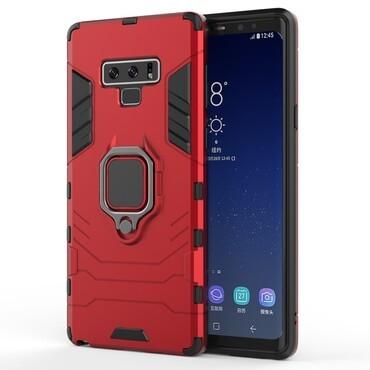 """Robustní kryt """"Impact X Ring"""" pro Samsung Galaxy Note 9 - červené"""