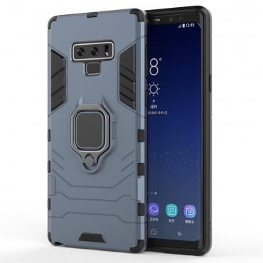 "Robustní kryt ""Impact X Ring"" pro Samsung Galaxy Note 9 - stříbrné barvy"