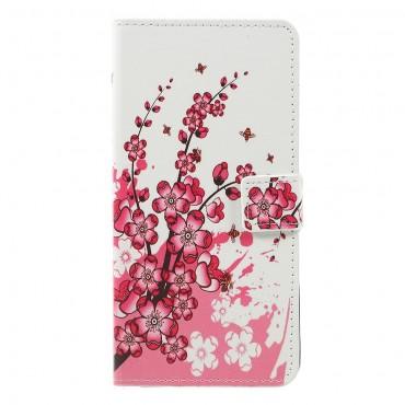 """Módní pouzdro """"Flower Bloom"""" pro Samsung Galaxy A7 2018"""