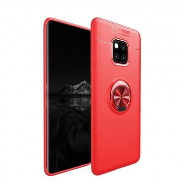 """Kryt TPU gel """"Multi Ring"""" pro Huawei Mate 20 Pro - růžový"""