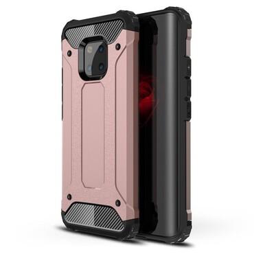 """Robustní kryt """"Rock"""" pro Huawei Mate 20 Pro - růžové"""