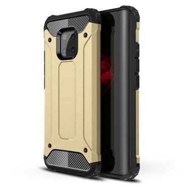"""Robustní kryt """"Rock"""" pro Huawei Mate 20 Pro - zlatý"""