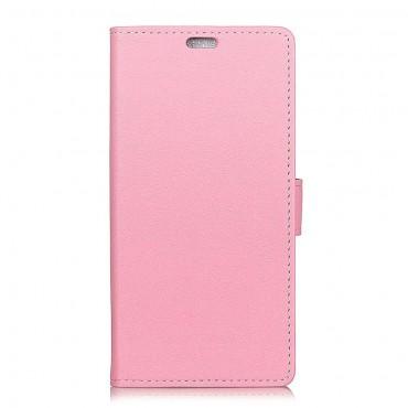 """Elegantní pouzdro """"Litchi"""" pro Huawei Mate 20 Pro - růžové"""