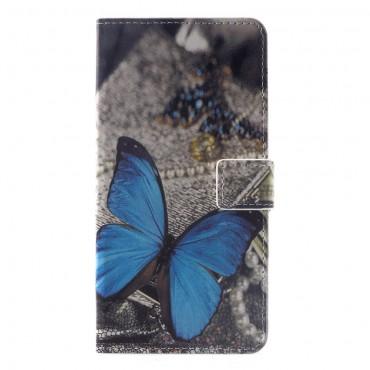 """Módní pouzdro """"Blue Butterfly"""" pro Huawei Mate 20 Pro"""