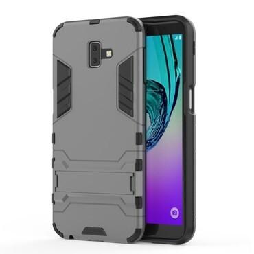 """Robustní obal """"Impact X"""" pro Samsung Galaxy J6 Plus - šedý"""
