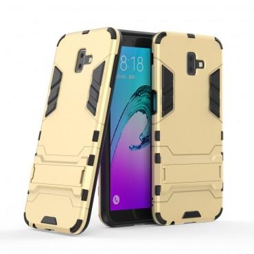 "Robustní obal ""Impact X"" pro Samsung Galaxy J6 Plus - zlaté barvy"