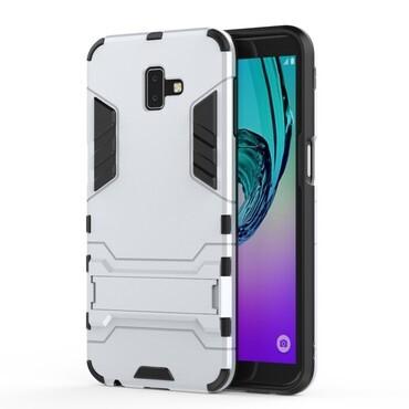 "Robustní obal ""Impact X"" pro Samsung Galaxy J6 Plus - stříbrný"