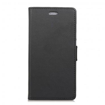 """Elegantní kryt """"Litchi"""" pro Samsung Galaxy J6 Plus - černý"""
