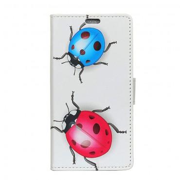 """Módní pouzdro """"Ladybugs"""" pro Samsung Galaxy J6 Plus"""