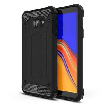 """Robustní kryt """"Rock"""" pro Samsung Galaxy J4 Plus - černé"""