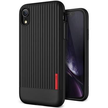"Obal VRS Design ""Single Fit"" pro iPhone XR - černý"