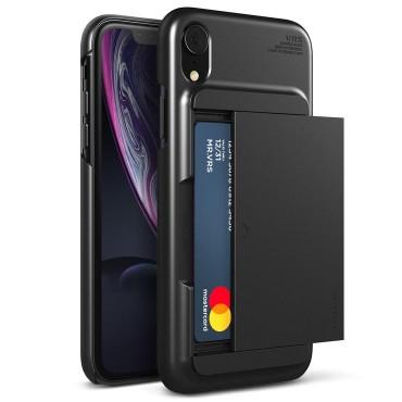 """Kryt VRS Design """"Damda Glide"""" pro iPhone XR - charcoal black"""