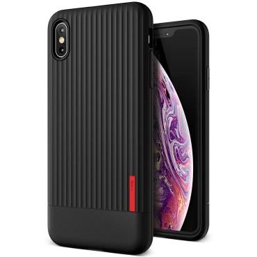 "Obal VRS Design ""Single Fit"" pro iPhone XS Max - černý"
