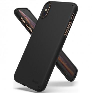 "Kryt Ringke ""Slim"" pro iPhone X / Xs - black"
