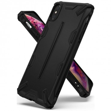 "Kryt Ringke ""Dual X"" pro iPhone X / Xs - sf black"