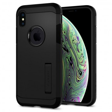 "Kryt Spigen ""Tough Armor"" pro iPhone X / XS - black"