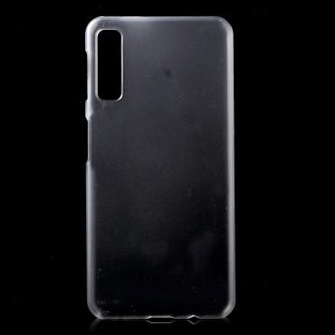 Pevný kryt TPU pro Samsung Galaxy A7 2018 - průhledný