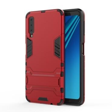 "Robustní kryt ""Impact X"" pro Samsung Galaxy A7 2018 - červené"