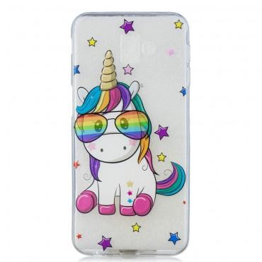 "Tenký kryt TPU gel ""Unicool"" pro Samsung Galaxy J6 Plus"