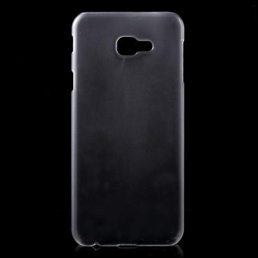 Tvrdý TPU obal pro Samsung Galaxy J4 Plus - průhledný
