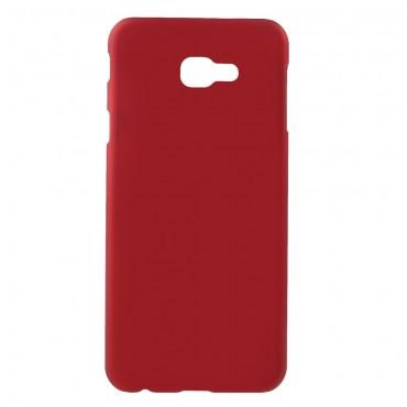 Tvrdý TPU obal pro Samsung Galaxy J4 Plus - červený