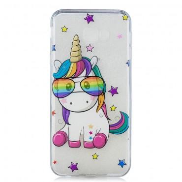 "Tenký TPU gelový obal ""Unicool"" pro Samsung Galaxy J4 Plus"