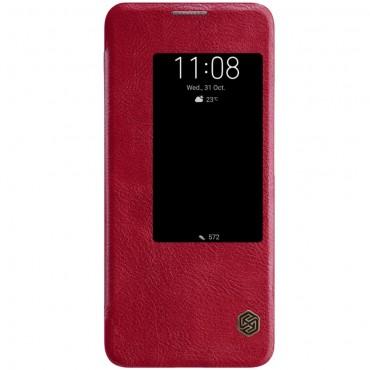 """Elegantní kryt """"Qin"""" pro Huawei Mate 20 Pro - červený"""