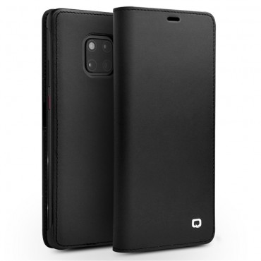 "Prémiový obal Qialino ""Leather"" pro Huawei Mate 20 Pro - černý"