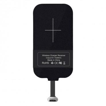 Univerzální bezdrátový QI přijímač Nillkin pro zařízení (kabel Type-C na USB)