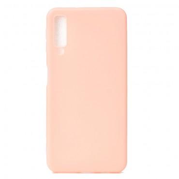Kryt TPU gel pro Samsung Galaxy A7 2018 - růžové