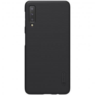 """Prémiový obal """"Super Frosted Shield"""" pro Samsung Galaxy A7 2018 - černý"""