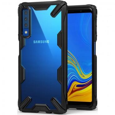 "Obal Ringke ""Fusion X"" pro Samsung Galaxy A7 2018 - černý"