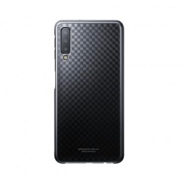"""Originální kryt """"Gradation Cover"""" pro Samsung Galaxy A7 2018 – černé"""