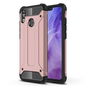 """Robustní obal """"Rock"""" pro Huawei Honor 8X - růžový"""