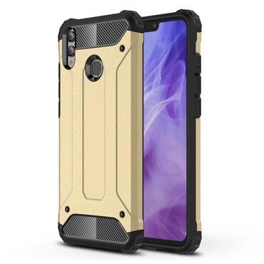 """Robustní kryt """"Rock"""" pro Huawei Honor 8X - zlatý"""