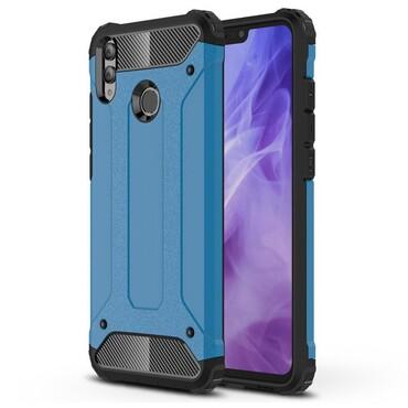 """Robustní obal """"Rock"""" pro Huawei Honor 8X - modrý"""