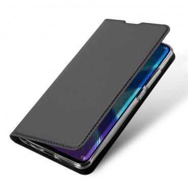 """Módní pouzdro """"Skin"""" pro Huawei Honor 8X z umělé kůže - černé"""