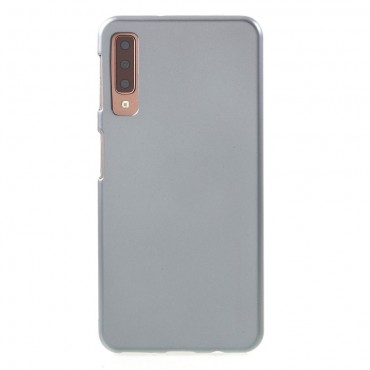 Kryt TPU gel Goospery iJelly Case pro Samsung Galaxy A7 2018 - šedý