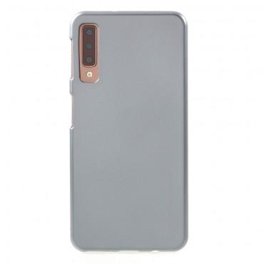 TPU gelový obal Goospery iJelly Case Samsung Galaxy A7 2018 - šedý