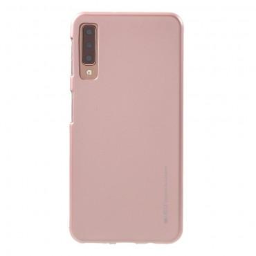 TPU gelový obal Goospery iJelly Case Samsung Galaxy A7 2018 - růžový