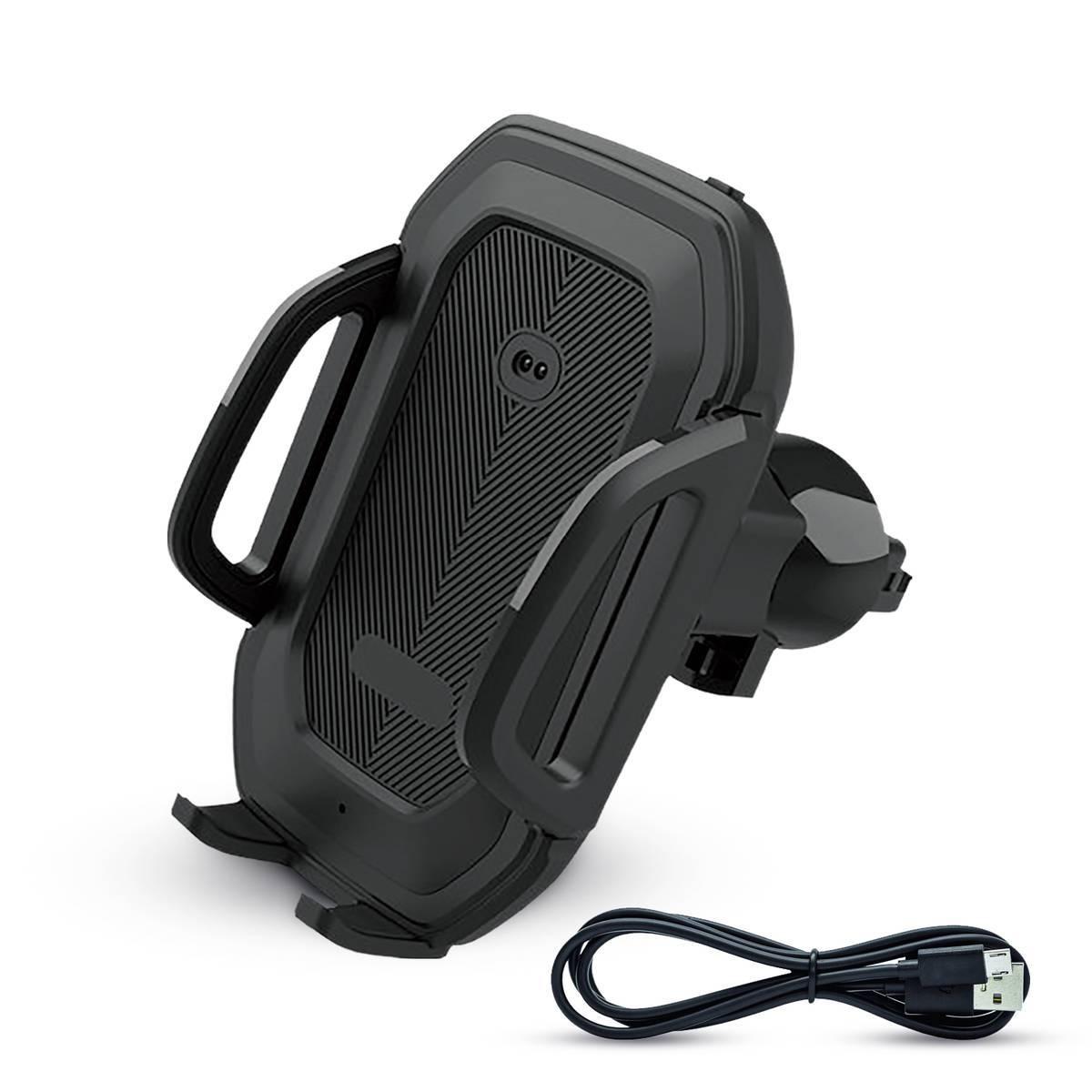 RoboFix: Automatický držák do auta s přiloženým Micro USB kabelem