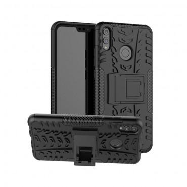 "Hybridní kryt TPU gel ""Tough"" pro Huawei Honor 8X - černé"