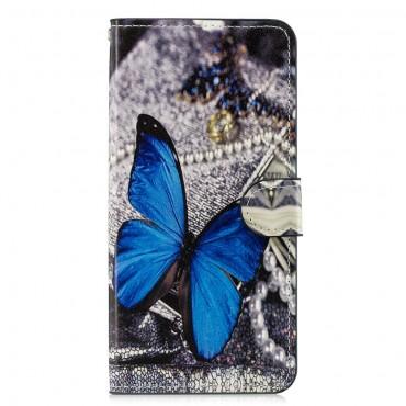 """Módní pouzdro """"Blue Buttefly"""" pro Huawei Honor 8X"""