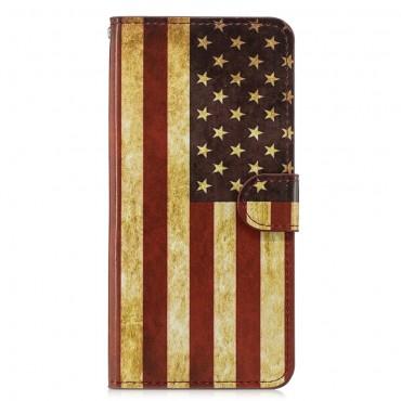"Módní pouzdro ""Retro USA"" pro Huawei Honor 8X"