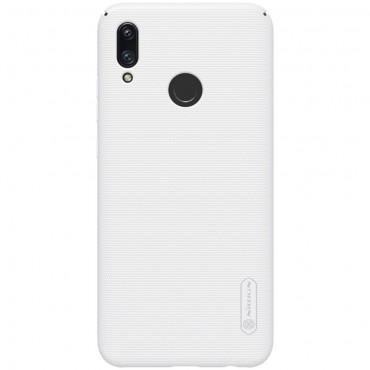 """Prémiový obal """"Super Frosted Shield"""" pro Huawei P Smart 2019 - bílý"""