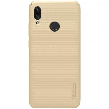 """Prémiový obal """"Super Frosted Shield"""" pro Huawei P Smart 2019 - zlaté barvy"""