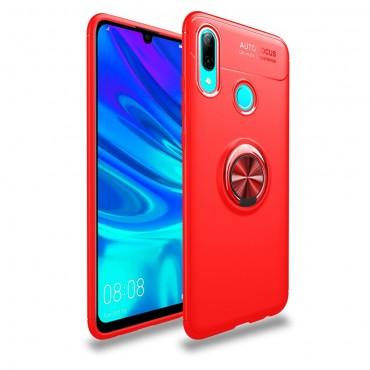 """TPU gelový obal """"Multi Ring"""" pro Huawei P Smart 2019 - červený"""