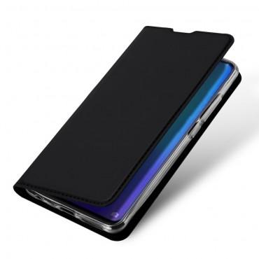 """Módní pouzdro """"Skin"""" pro Huawei P30 z umělé kůže - černé"""