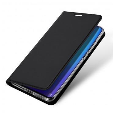 """Módní pouzdro """"Skin"""" pro Huawei P30 Pro z umělé kůže - černé"""